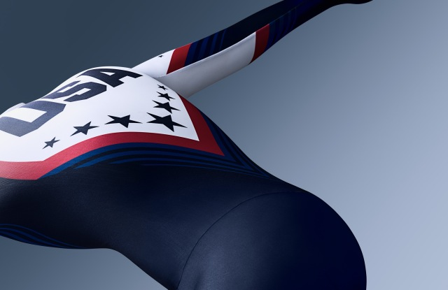 Under Armour's new skin suit for the U.S. Speedskating Federation.