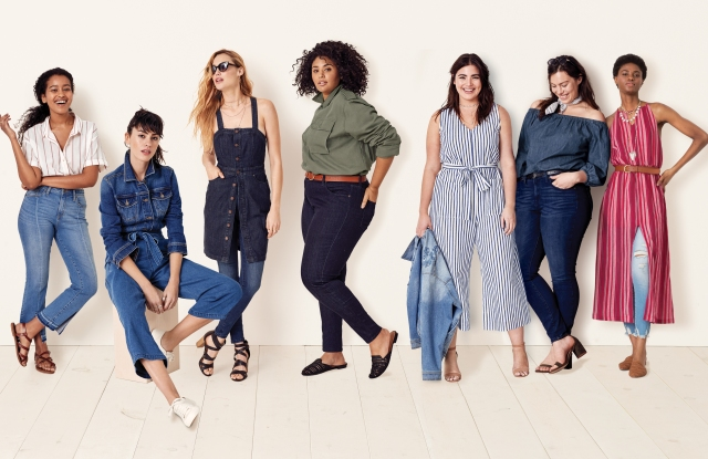 Target's Universal Thread brand is designed to fit women of  all sizes and shapes.