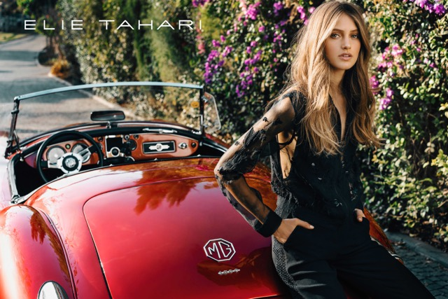 An ad image from Elie Tahari.