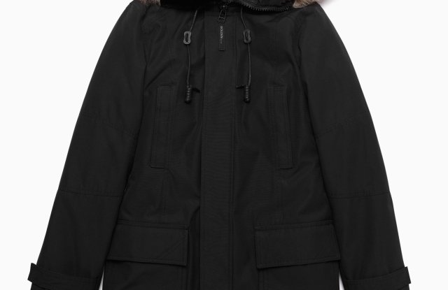 Aritzia Bancroft Vegan Parka. Photo courtesy of PrimaLoft.