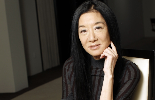 Designer Vera Wang at her studio.Vera Wang, New York