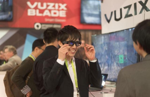 Vuzix Blade AR CES Alexa