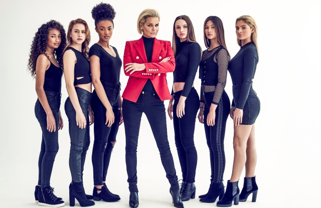 "Yolanda Hadid and the models of ""Making a Model."""