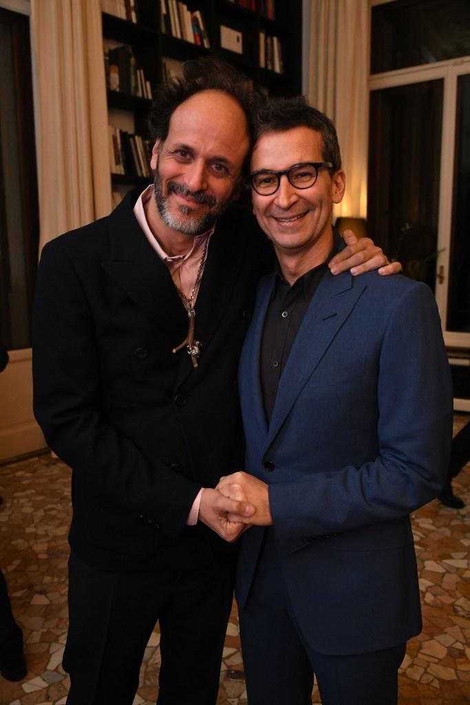 Luca Guadagnino and Federico Marchetti