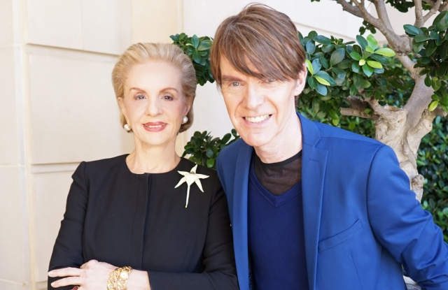 Carolina Herrera and Ken Downing