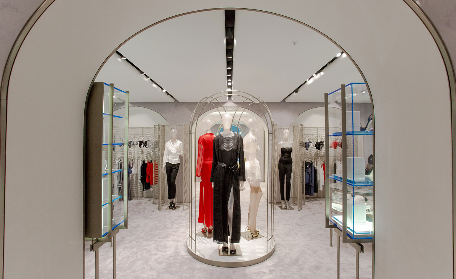 Inside the La Perla store on Hong Kong's Russell Street in Causeway Bay. Opened in 2015, the brand said at the time the four-storey, 8,000 square foot boutique was its largest store globally.