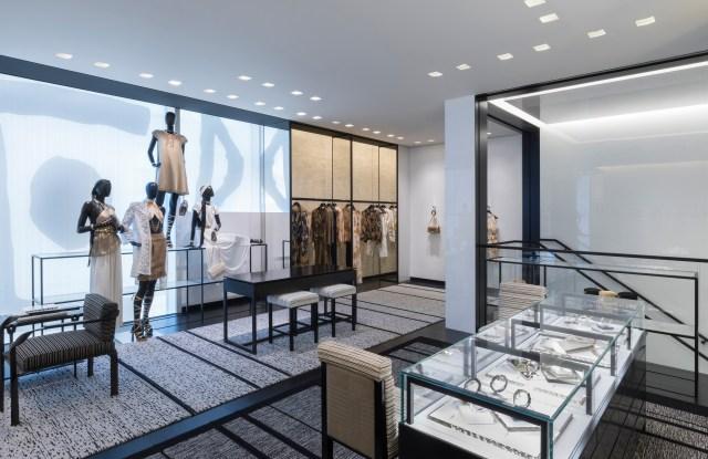 Chanel's Ginza Namiki boutique.