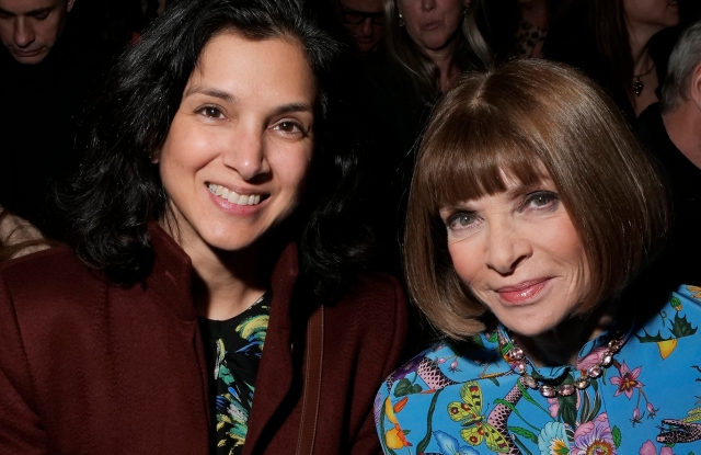 Radhika Jones and Anna Wintour