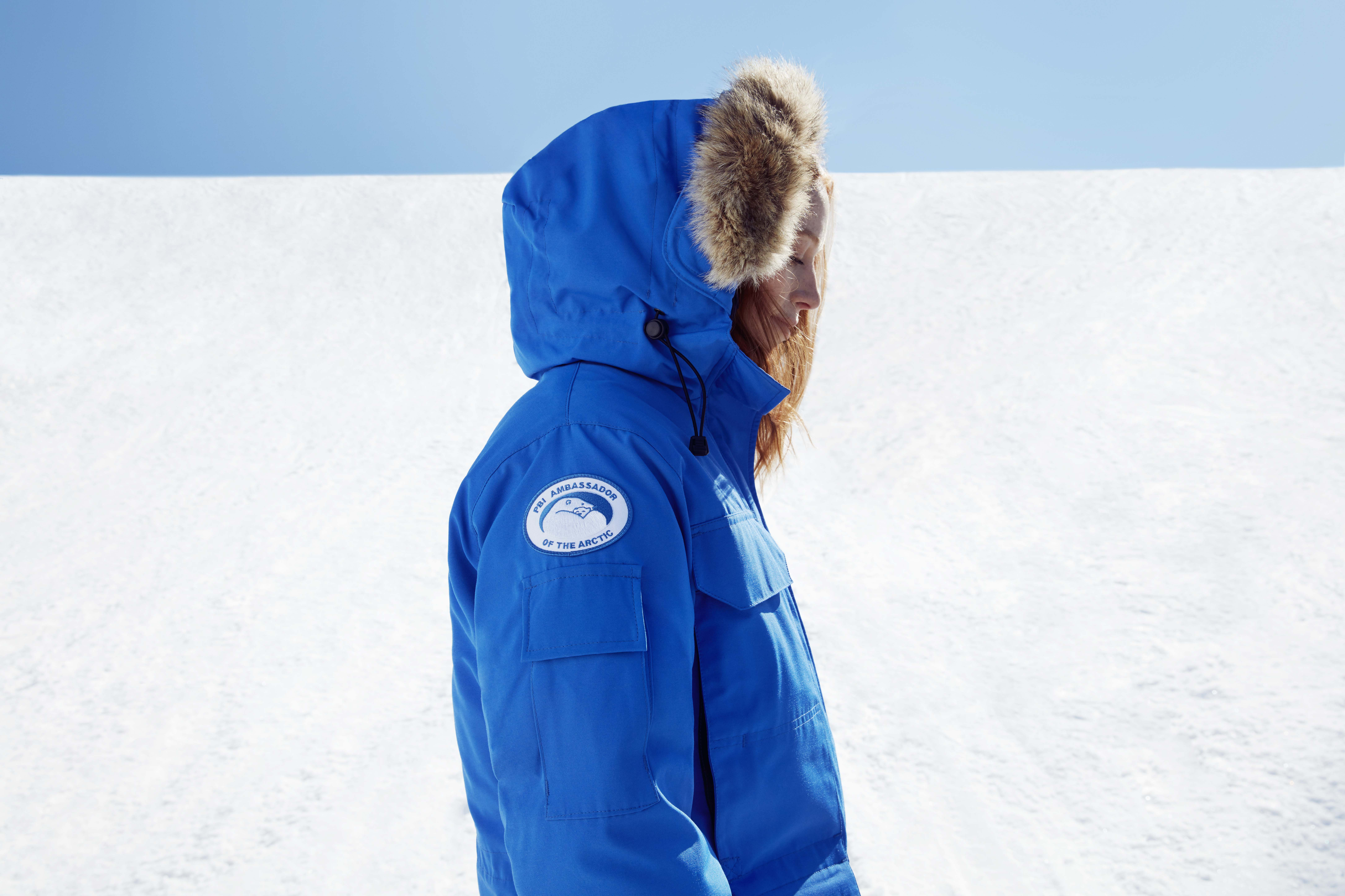 An item from Canada Goose's capsule collection in PBI Blue