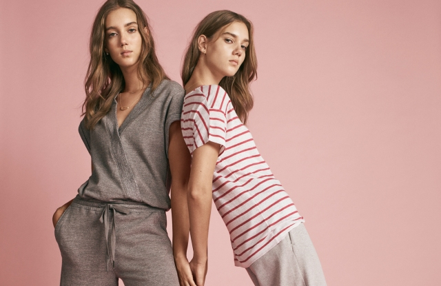 Two spring looks from Kinly.