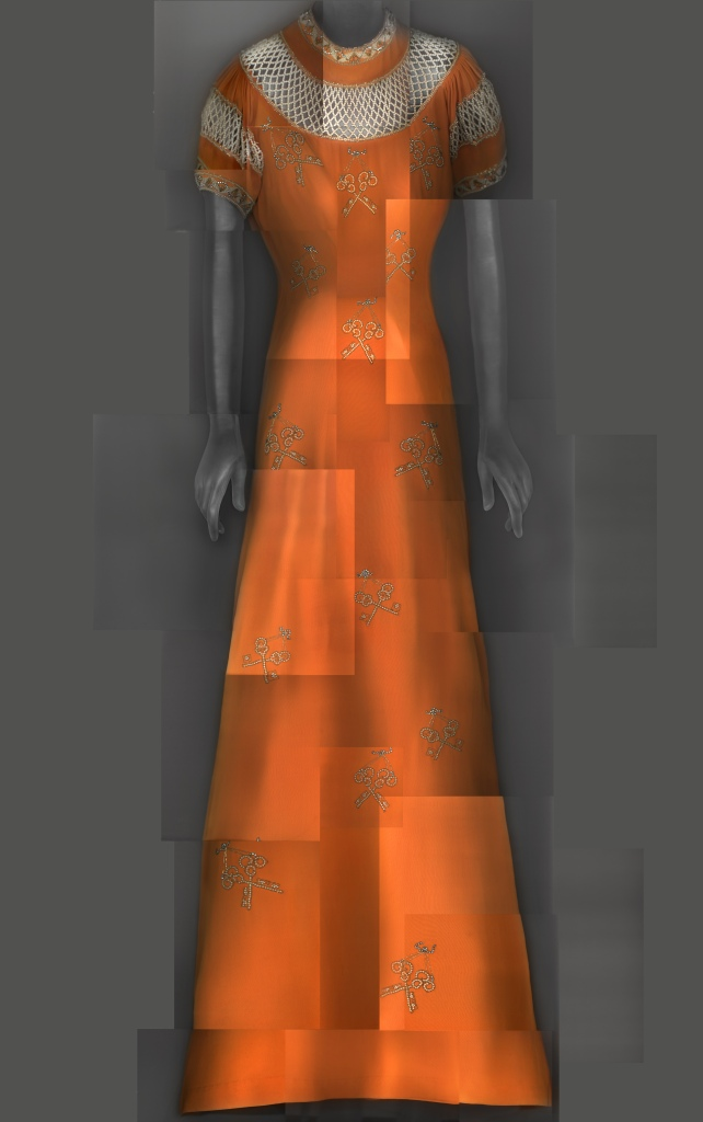 Elsa Schiaparelli's evening dress