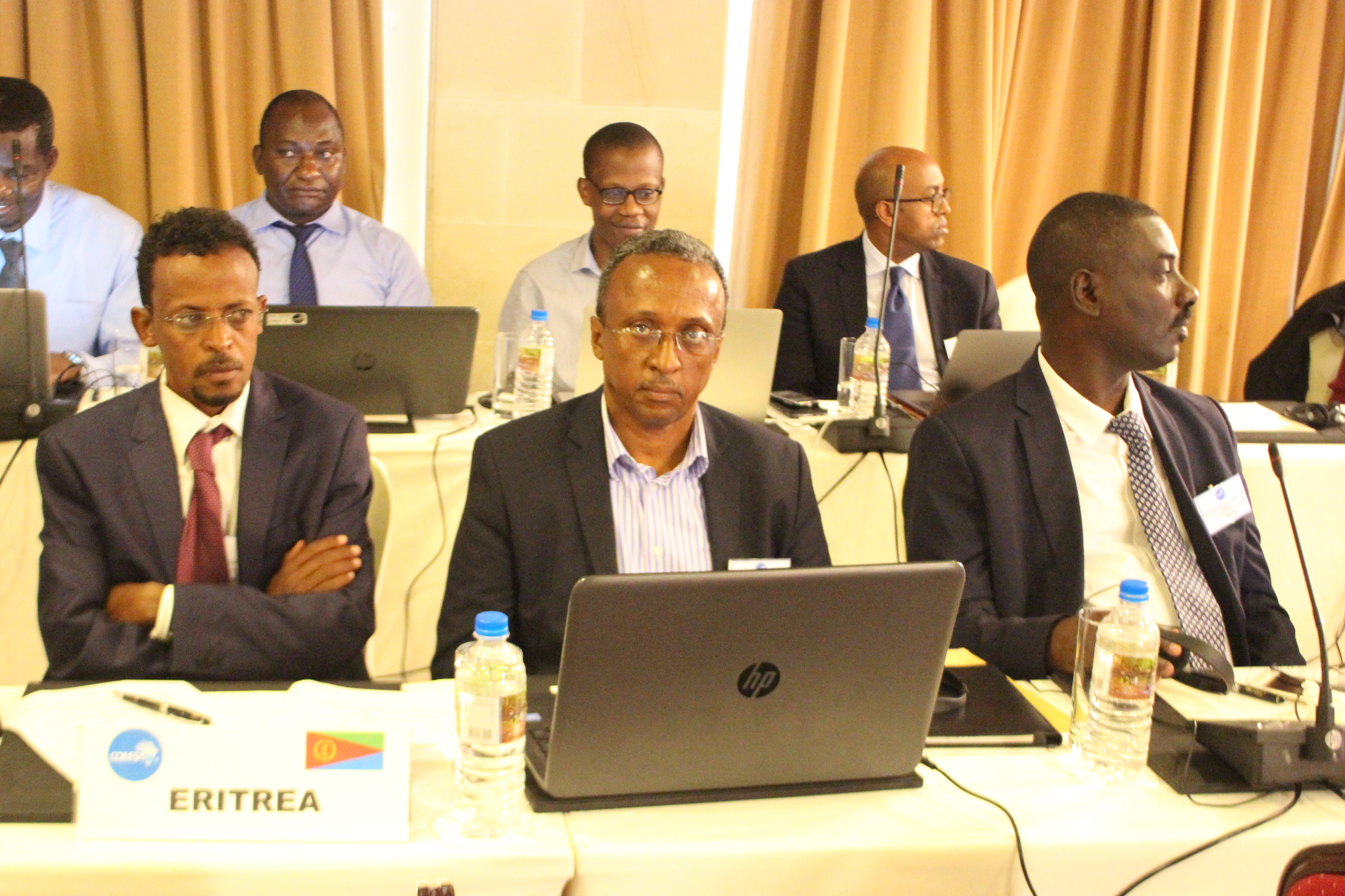 The Eritrean delegation at the COMESA DTFA workshop held in the Seychelles last January.