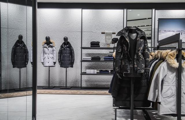 A Canada Goose store.