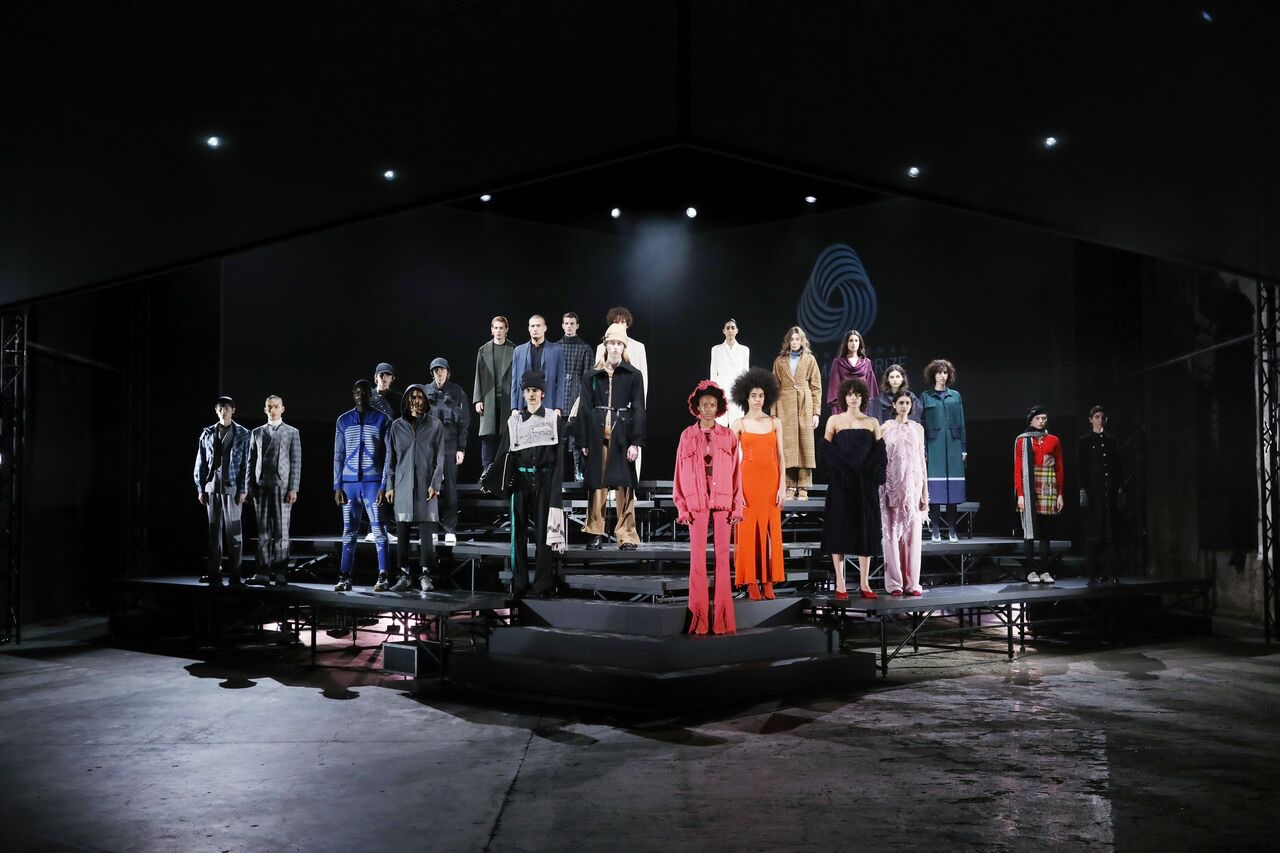 The 2017/2018 International Woolmark Prize finals in Florence.