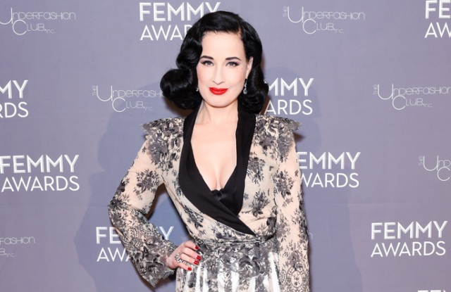 Dita Von Teese attends 2018 Femmy Awards hosted by Dita Von Teese on Feb. 6 in New York.