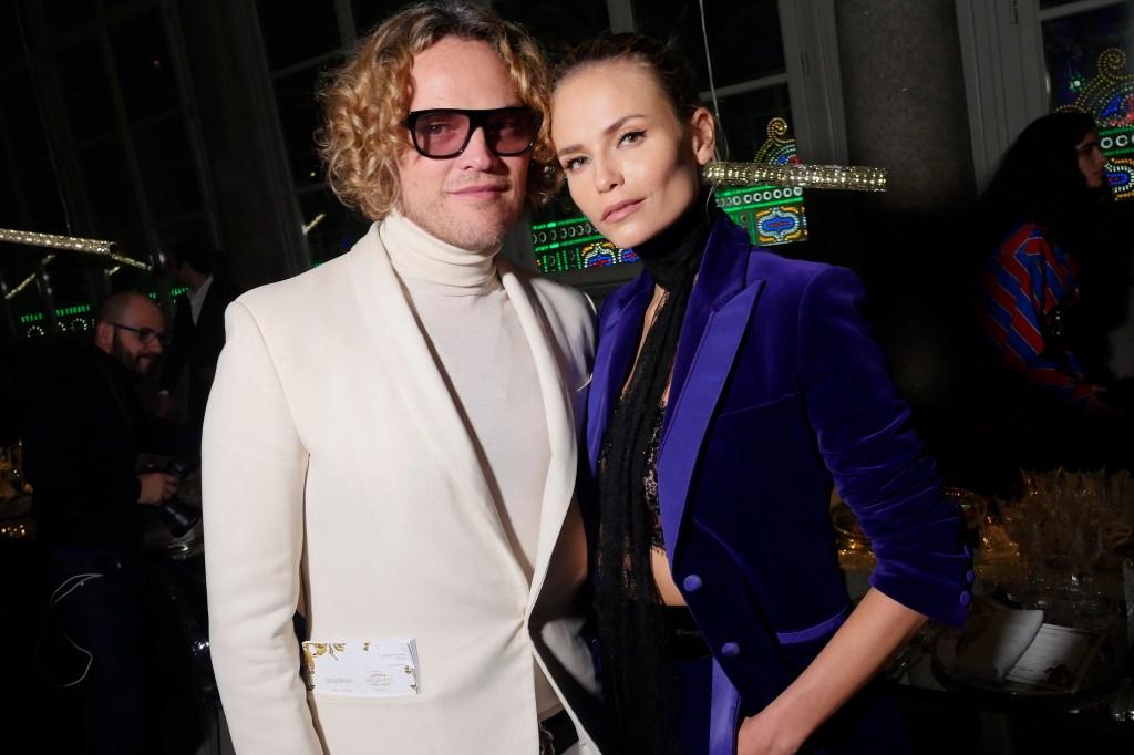 Peter Dundas and Natasha Poly
