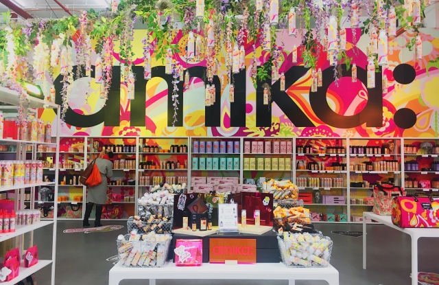Amika's Times Square Pop-Up Shop