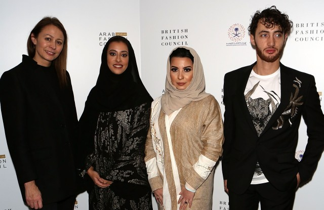 Caroline Rush, H.H Princess Noura Bint Faisal Al Saud, Ms Layla Issa Abuzaid and Jacob Abrian