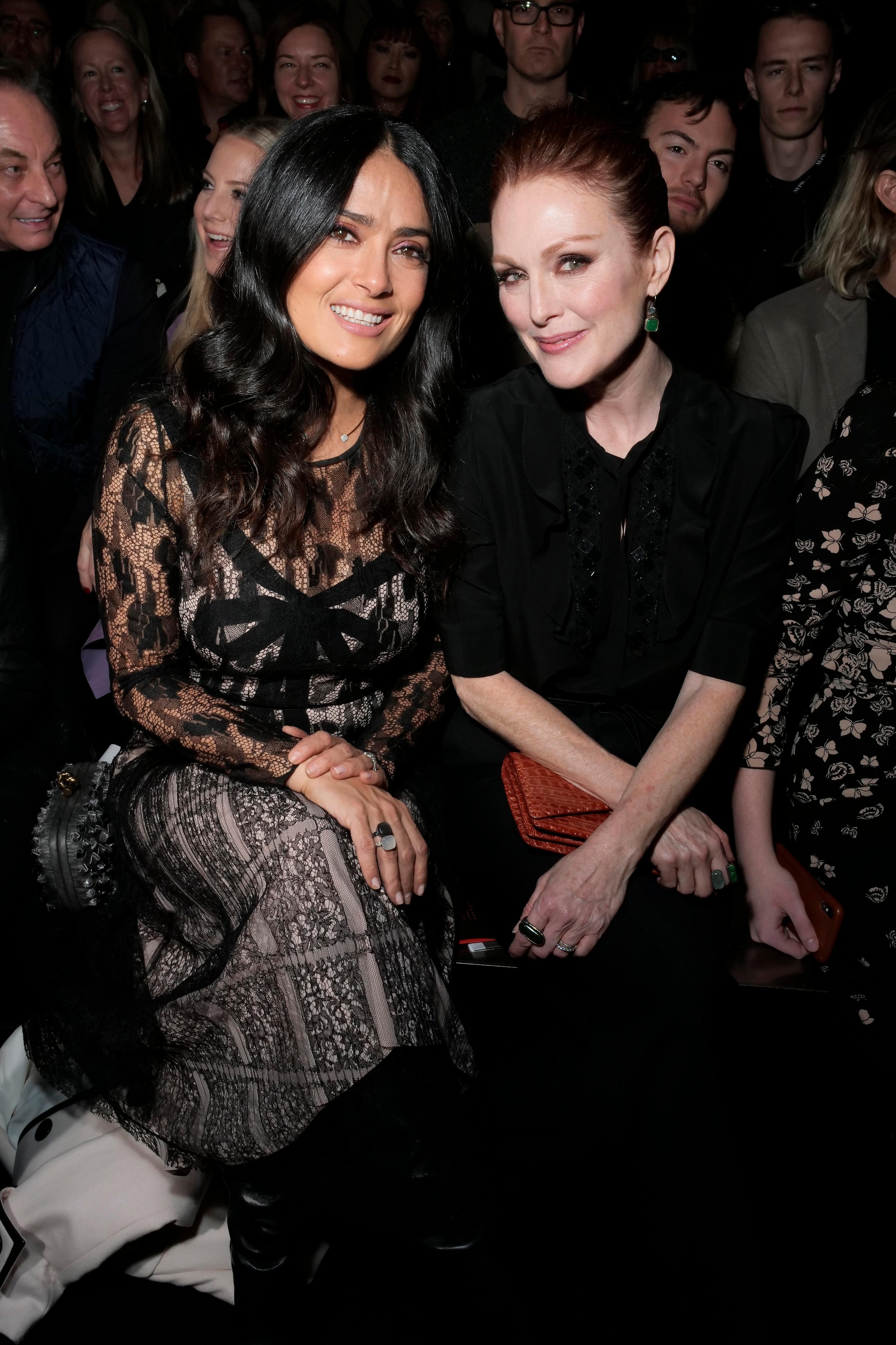 Salma Hayek and Julianne Moore