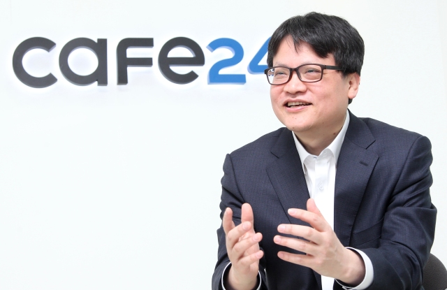 Cafe 24 chief executive officer Jaesuk Lee.