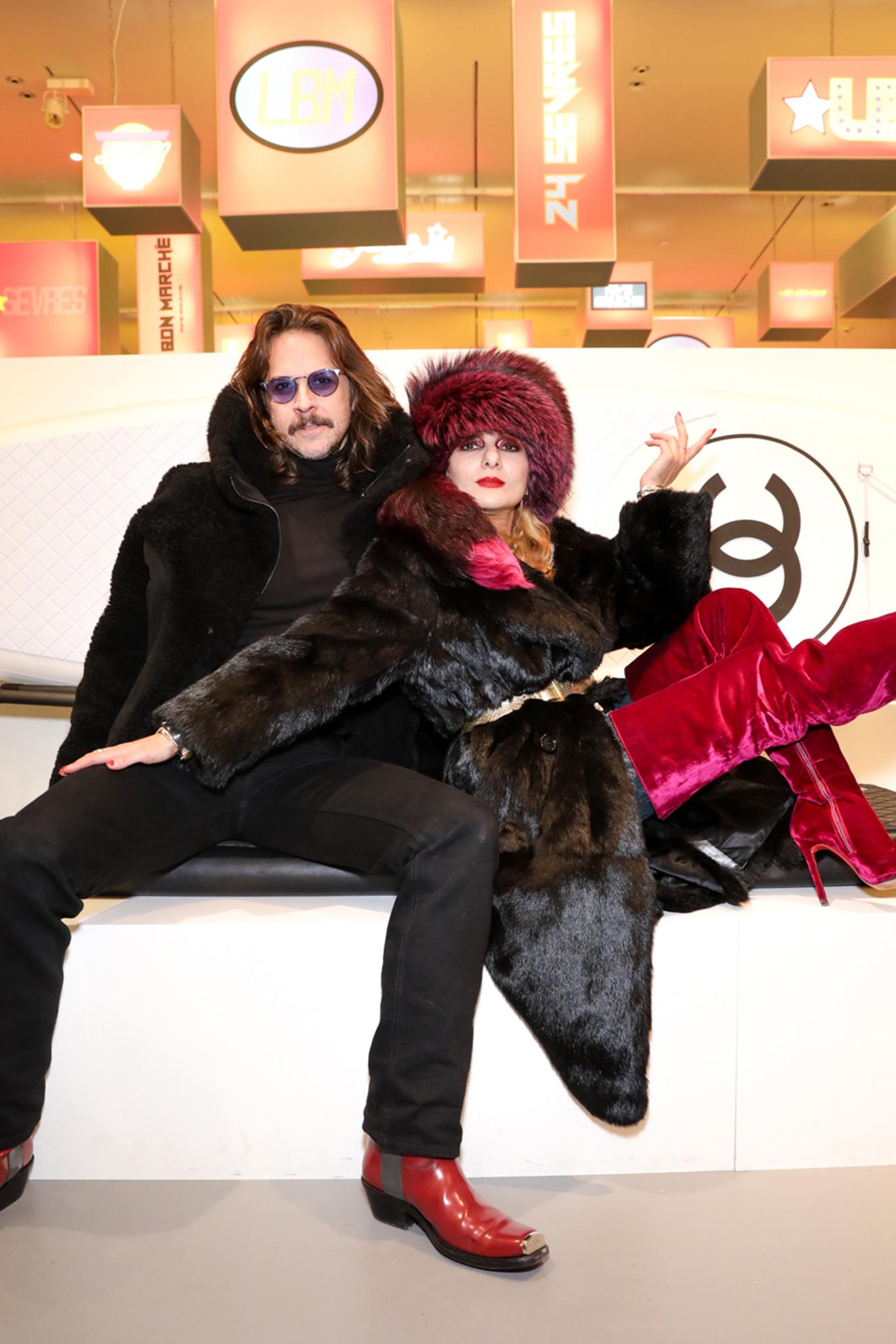 Casey Spooner and Catherine Baba