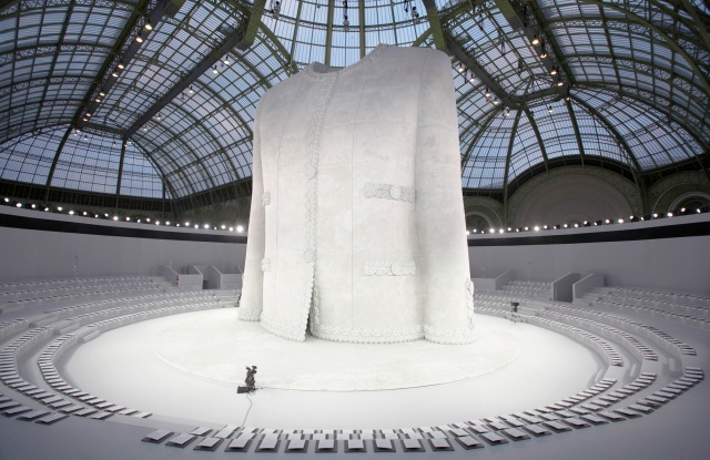 Chanel show set at the Grand Palais