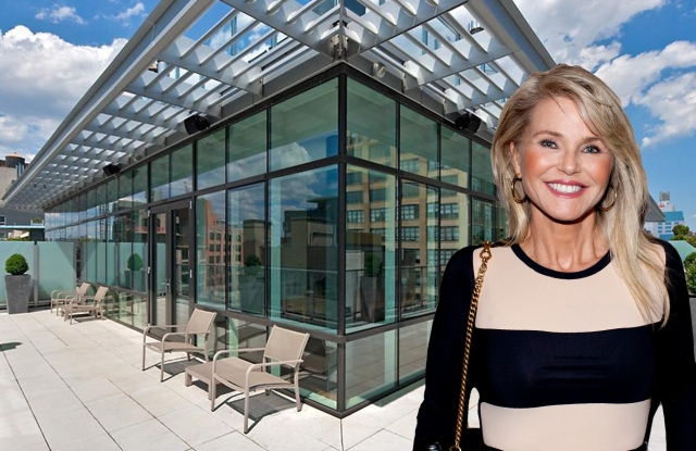 Christie Brinkley's new penthouse.