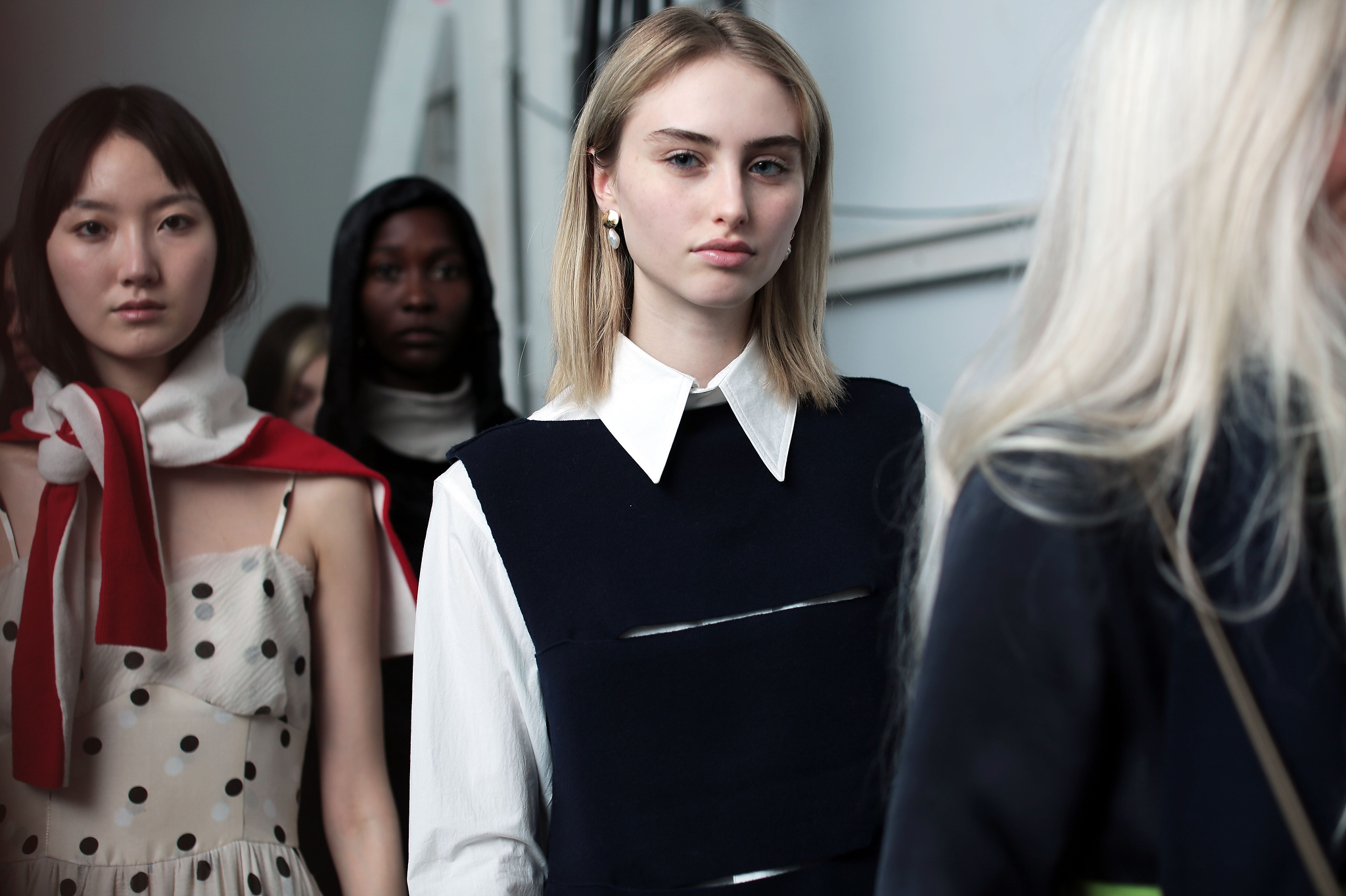 Backstage at Creatures of Comfort RTW Fall 2018