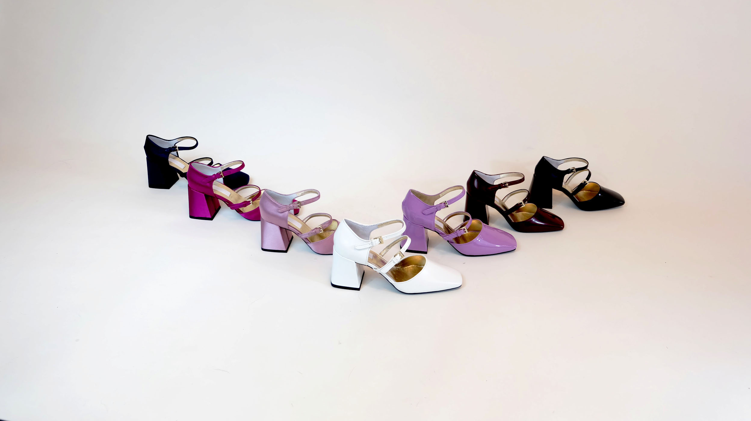 Shoes from Suzanne Rae's fall 2018 collection, priced at $500, retail.