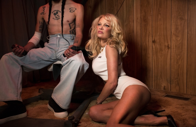 GCDS Spring 2018 ad campign fronted by Pamela Anderson.