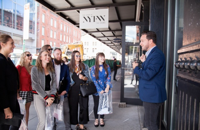 IMG invited college students to attend NYFW.