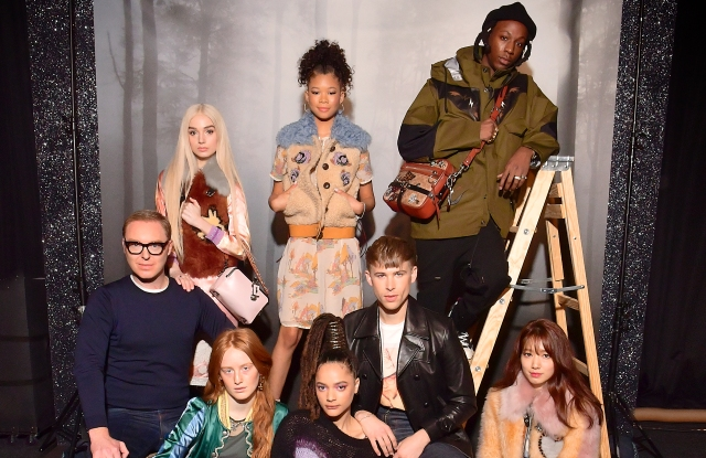 Stuart Vevers, Poppy, Storm Reid, India Menuez, Sasha Lane, and Tommy Dorfman
