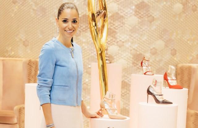 Jennifer Chamandi at Level Shoes.