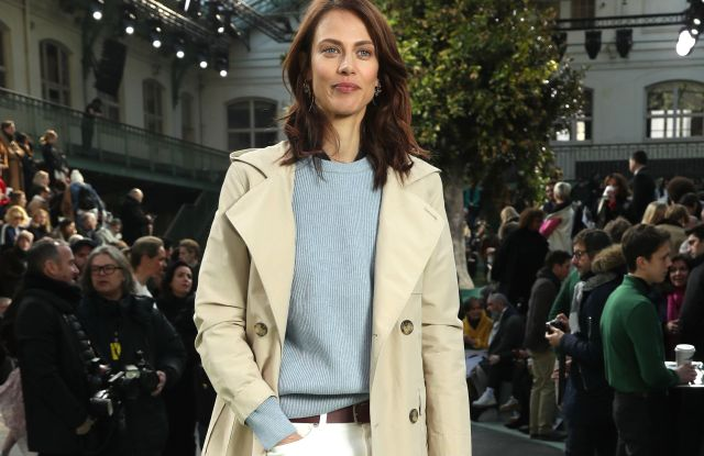 Aymeline ValadeLacoste show, Front Row, Fall Winter 2018, Paris Fashion Week, France - 28 Feb 2018