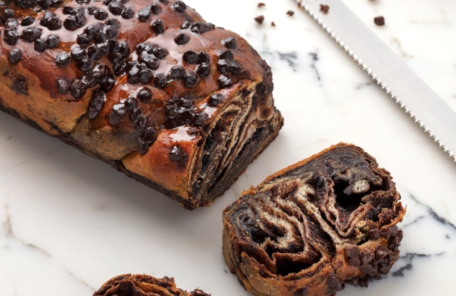 Chocolate babka from Lilly's Baking Co. at Brooklyn Brands.