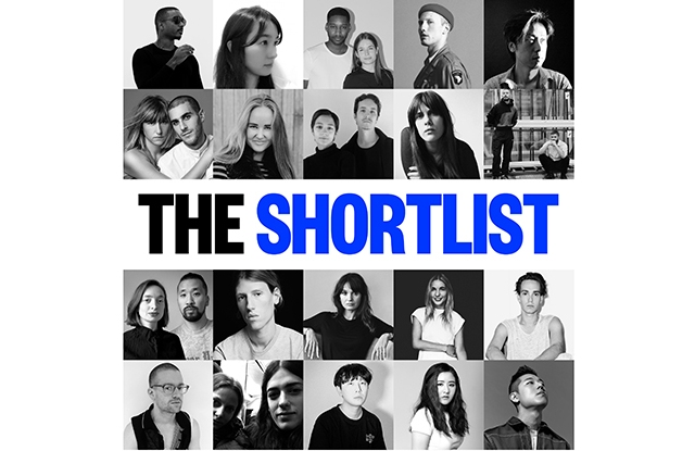 The semifinalists for the LVMH Prize for Young Fashion Designers.