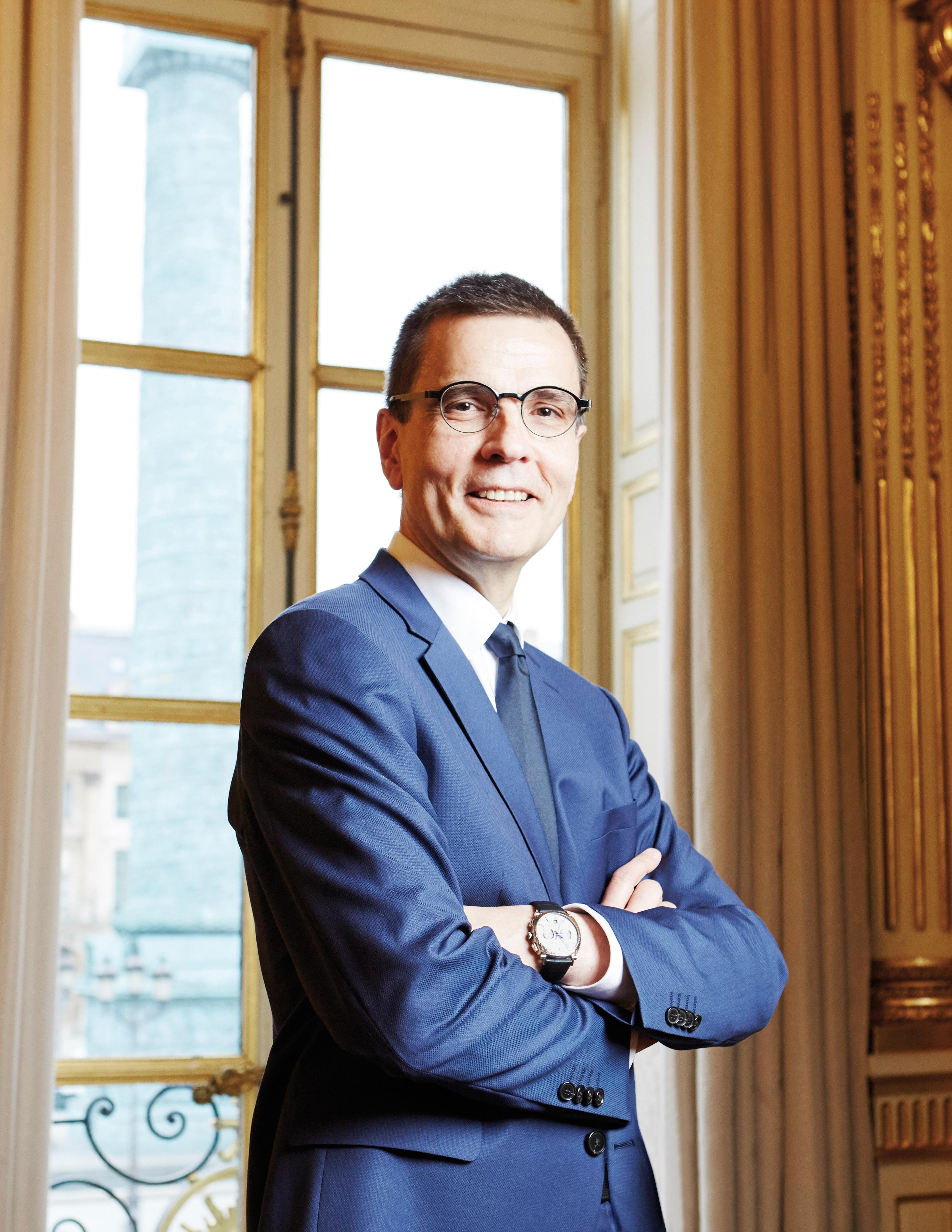 Jean-Marc Mansvelt, CEO of Chaumet