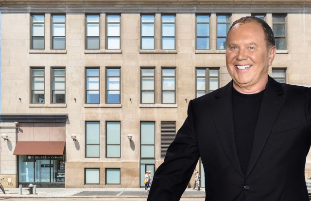 Michael Kors just sold a condo in this Greenwich Village building.
