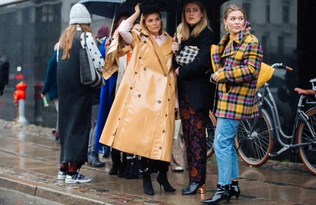 Street Style at Copenhagen Fashion Week Fall 2018