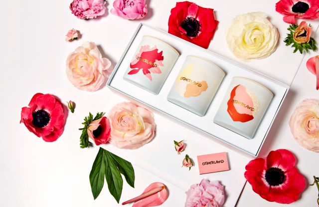 Otherland's Valentine's Day Candle collection.