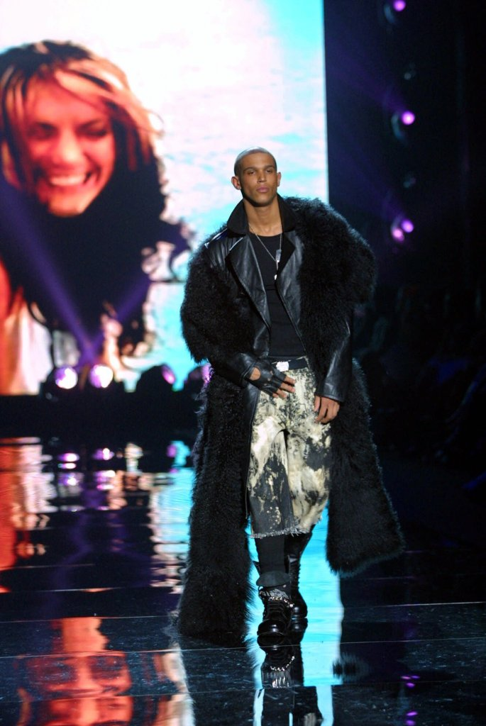 Sean John puts on first runway show during New York Fashion Week at Bryant Park.