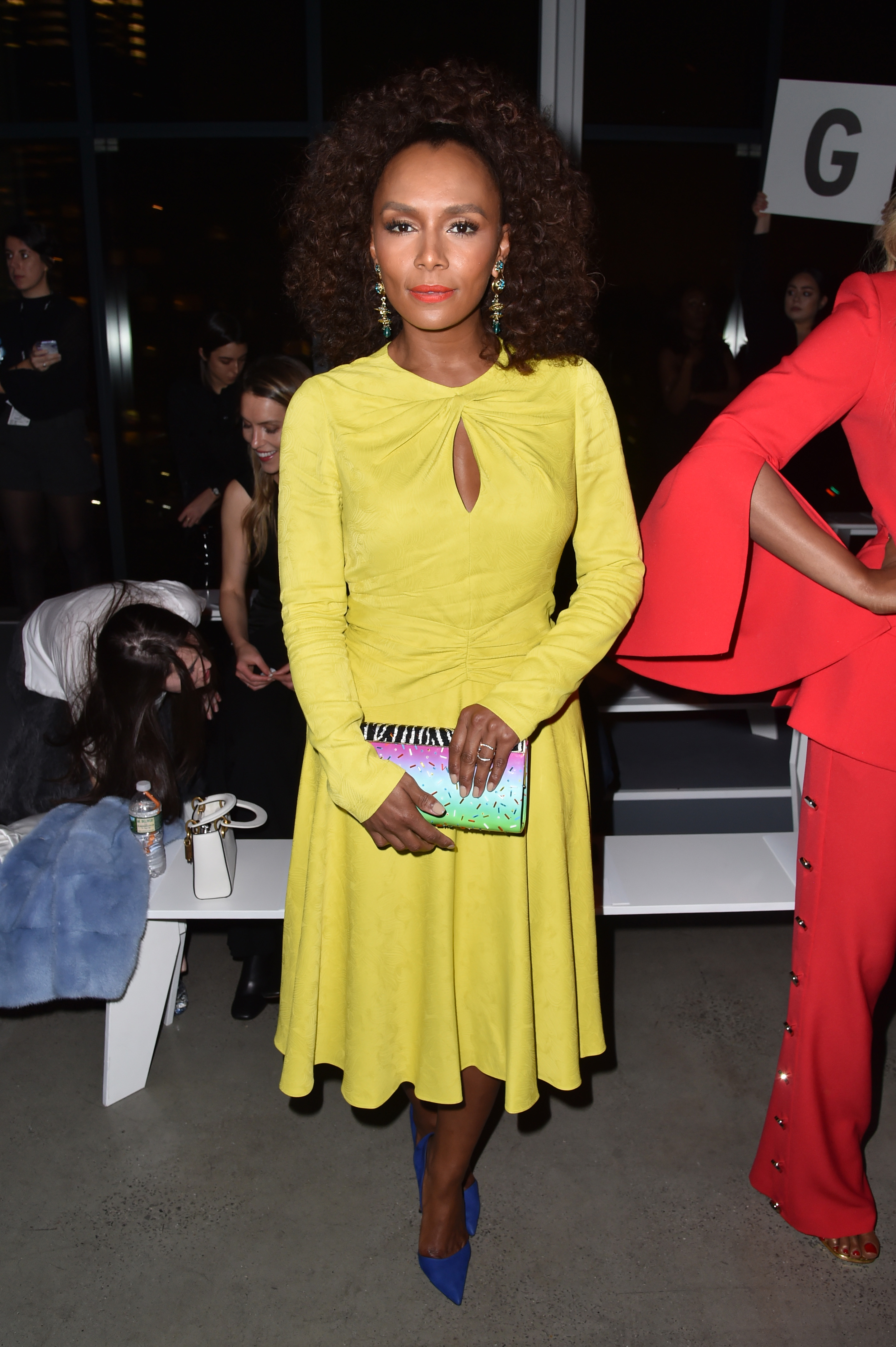 Janet Mock in the front rowPrabal Gurung show, Front Row, Fall Winter 2018, New York Fashion Week, USA - 11 Feb 2018