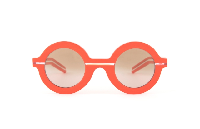 A pair of glasses from the Revel Paris x Maison Rabih Kayrouz collaboration.