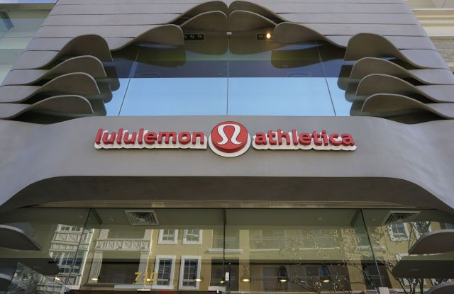 The Lululemon Athletica logo is seen at the store at The Americana at Brand mall in Glendale, Calif., on . From Lululemon's yoga pants public relations fiasco to J.P. Morgan's (hashtag) AskJPM social media failure, big brands aren't immune to misstepsCorporate Marketing Blunders, Glendale, USA