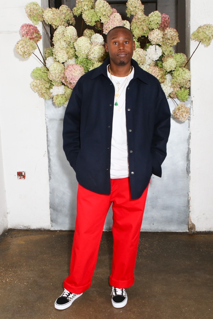 Jahleel WeaverOff White x Mytheresa.com event, Spring Summer 2018, London Fashion Week, UK - 17 Sep 2017