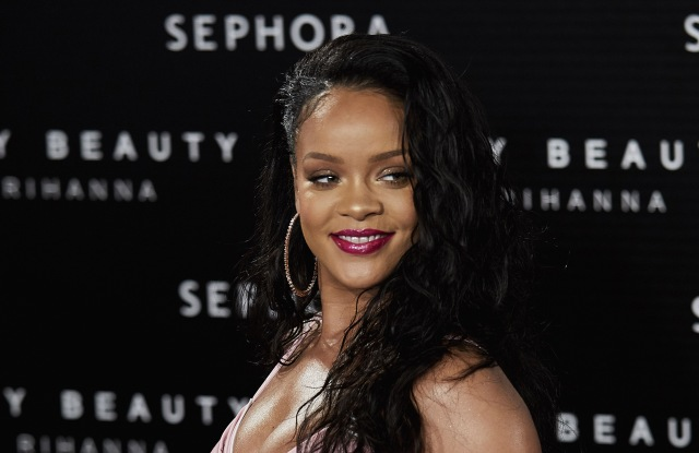 RihannaRihanna attends Rihanna Fenty Beauty Presentation, Madrid, Spain - 23 Sep 2017
