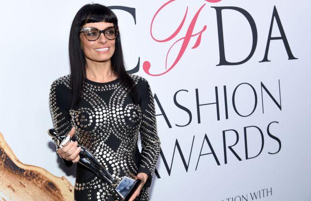 CFDA Lifetime Achievement Award winner, Norma Kamali, poses at the CFDA Fashion Awards at the Hammerstein Ballroom, in New York2016 CFDA Fashion Awards - Winner's Walk, New York, USA