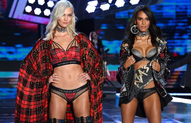 Karlie Kloss and Cindy Bruna on the catwalkVictoria's Secret Fashion Show, Runway, Shanghai, China - 20 Nov 2017