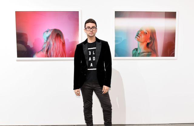 Christian SirianoAnton Yelchin 'Provocative Beauty' exhibition, New York, USA - 13 Dec 2017
