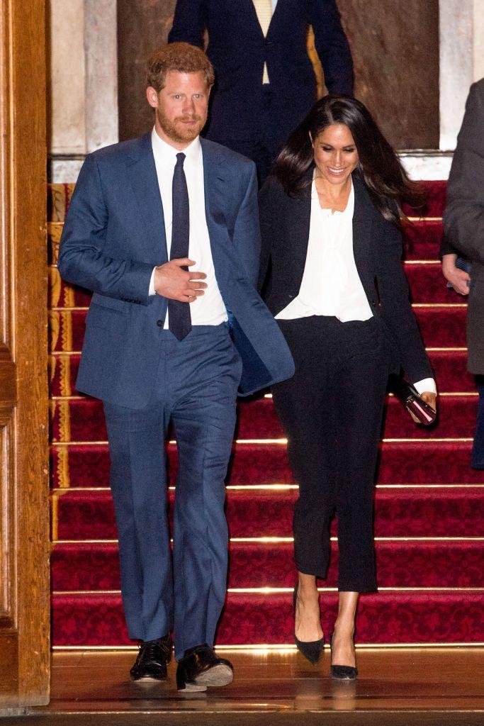 Prince Harry and Meghan MarkleEndeavor Fund Awards, London, UK - 01 Feb 2018